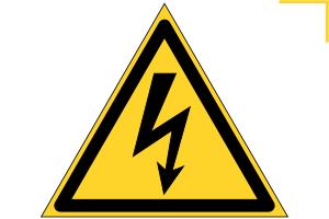 плакат по электробезопасности, вектор