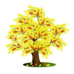 Уроки Inkscape для начинающих: рисуем  дуб.