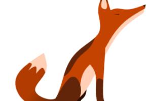 лиса с помощью bspline