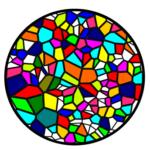 Уроки Inkscape: интерполяция, мозаика Вороного