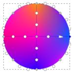 Как использовать mesh tool в inkscape