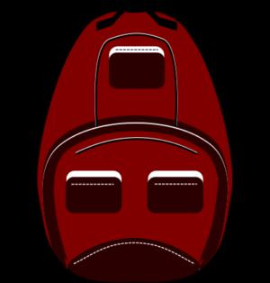 рюкзак в inscape