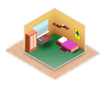 Изометрия с помощью inkscape