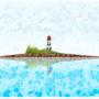 остров в low poly Inkscape