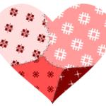 Рисуем пэчворк валентинку в inkscape