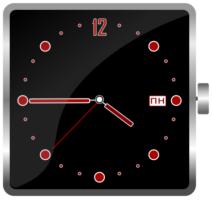 Часы в inkscape