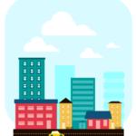Рисуем в inkscape город в стиле flat