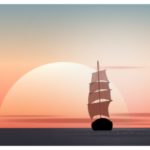 Парусник в inkscape