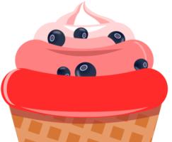 Мороженое в Inkscape