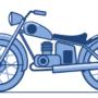 Мотоцикл inkscape