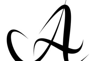 Текст из клнтуров в inkscape