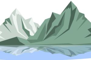 горы в векторе
