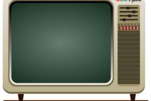 векторное изображение телевизора