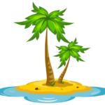 Как нарисовать необитаемый остров