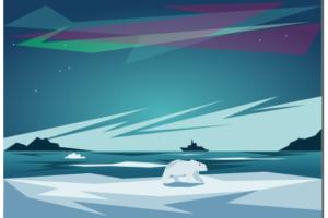 полярный пейзаж