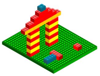 Лего- рисуем в векторе