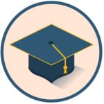 Иконка академической шляпки