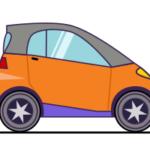 Как нарисовать обычную машину