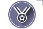 Рисунок иконки, медаль за достижения