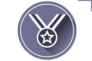медаль иконка вектор