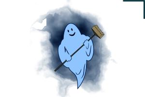 как нарисовать привидение