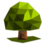 Как нарисовать low poly с помощью триангуляции Делоне