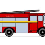 Рисунок пожарной машины