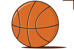 рисунок баскетбольный мяч
